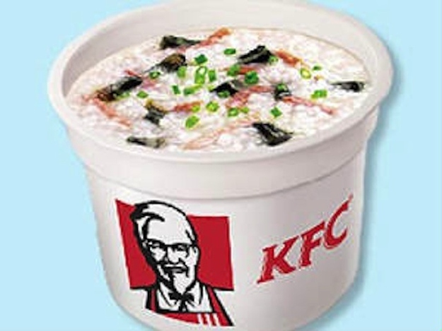 2. Rice Kongee - KFC, China