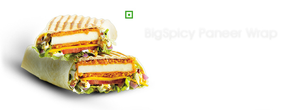 8. BigSpicy Paneer Wrap - McDonald's, India