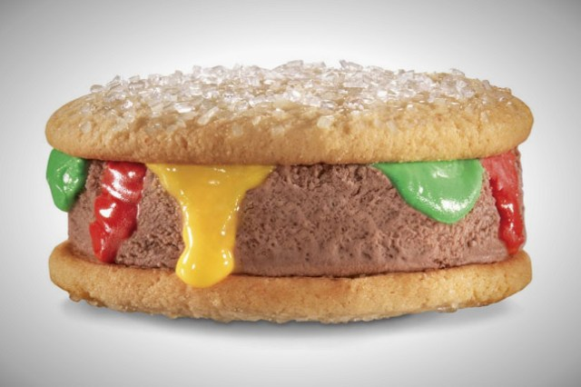12) Carl's Jr. Ice Cream Burger - What can you say, Carl's Jr. really love them burgers.