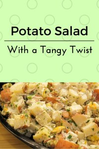 Tangy Twist Potato Salad