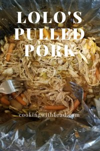 Not your boring pulled pork