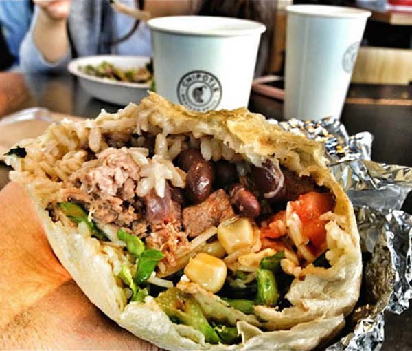 "12. There is a secret menu item at Chipotle called a ""quesarito"" where a burrito is wrapped using a cheese quesadilla."