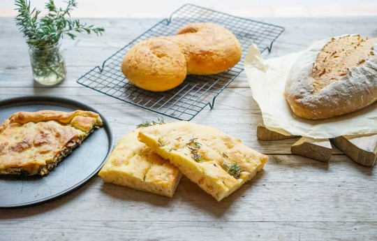 Just some of the breads that you can learn to make...