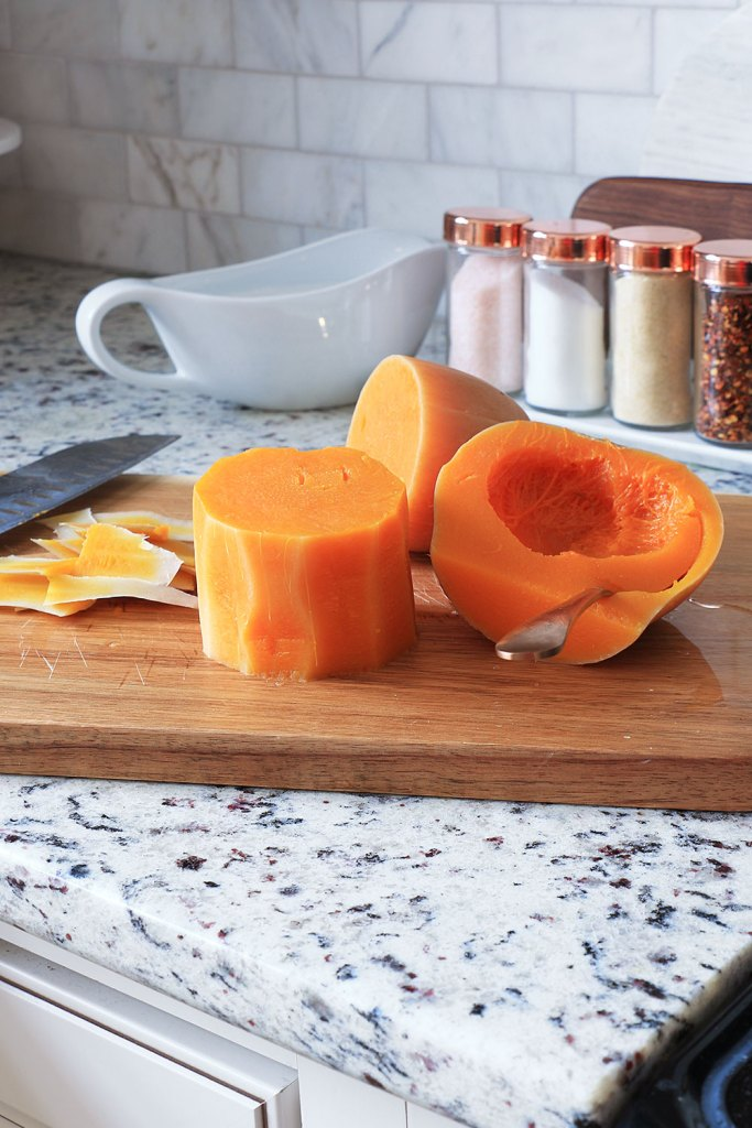 butternut squash cut