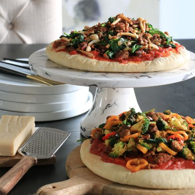 Loaded Vegan Pizza (Flavorful & Cheeseless)