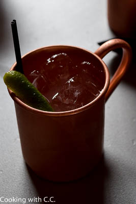 Finished Moscow Mule