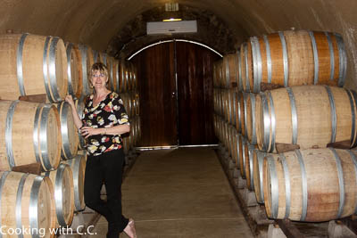 Azimuth Wine Cave With Barrels Aging