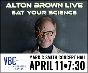 Alton Brown Coming To Huntsville April 11, 2016