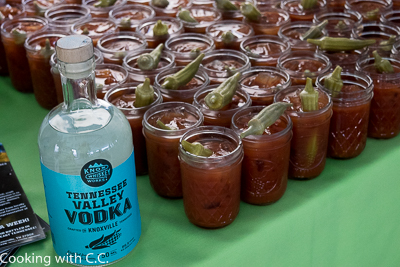 Bloody Mary At Reception With Local Vodka