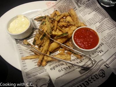 Zucchini + Eggplant Fritti