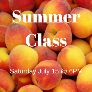 Summer Class – July 15th