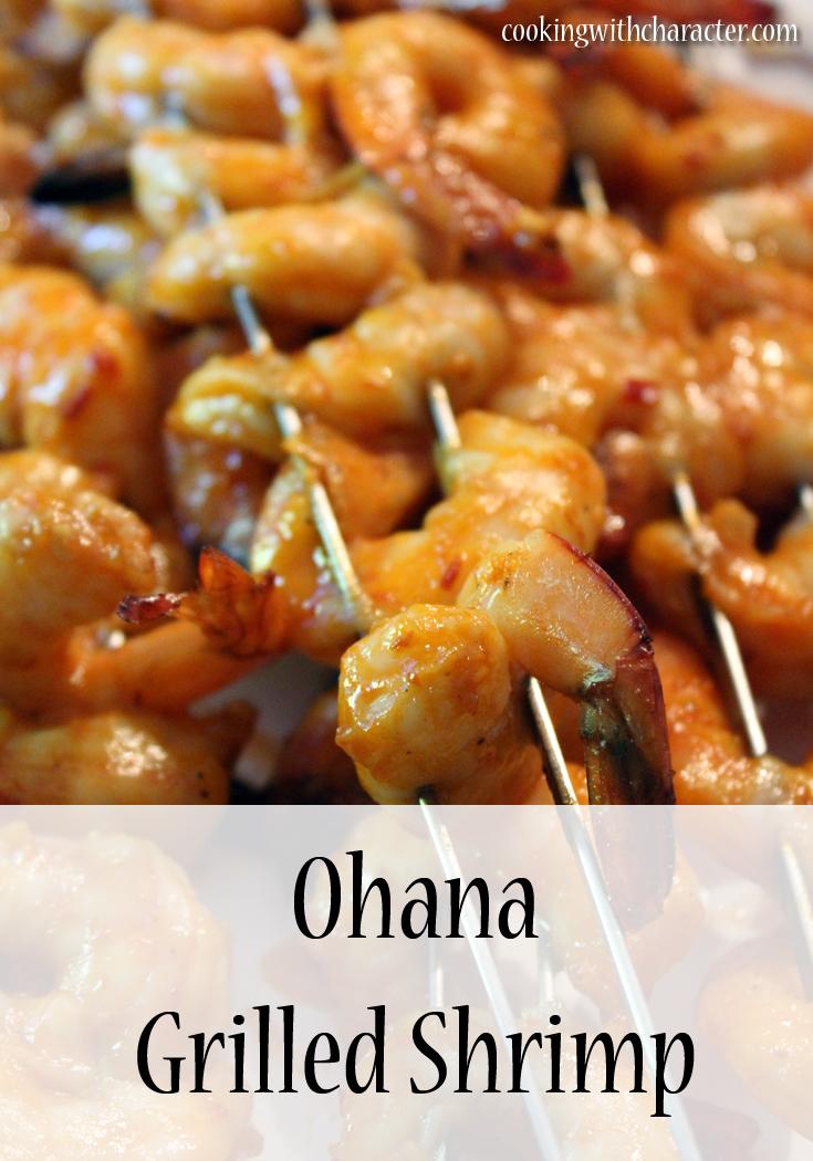 Ohana Grilled Shrimp