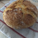 No Knead Bread in a Dutch Oven