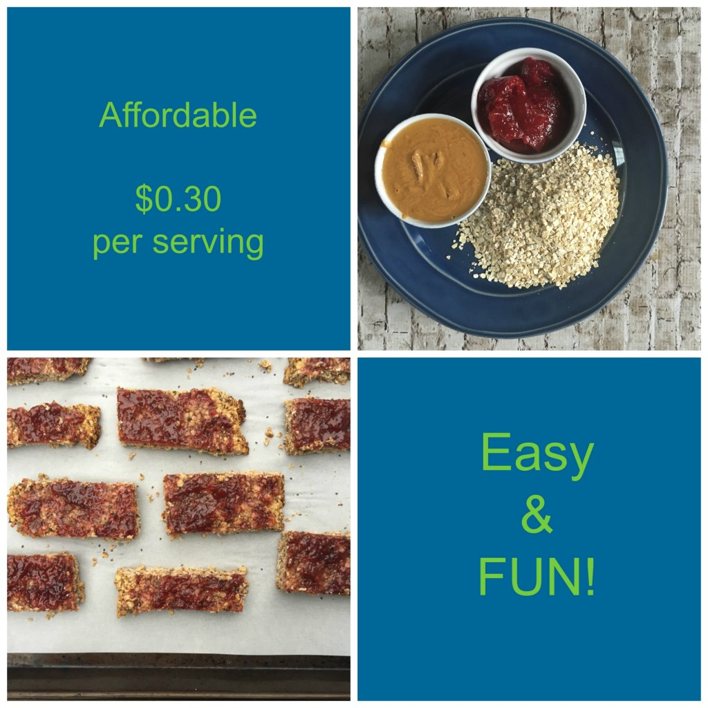 Cheap Peanut Butter & Jelly Granola Bar Recipe