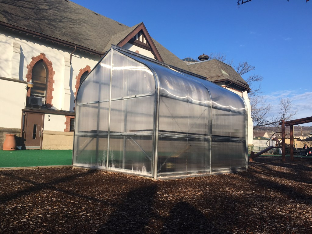 Fighting Hunger with Children Feeding Children Greenhouse & Garden Project
