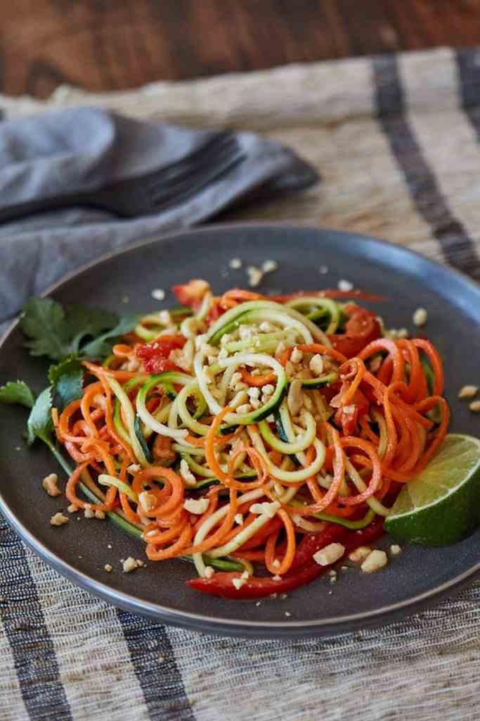 Thai Zoodles Salad