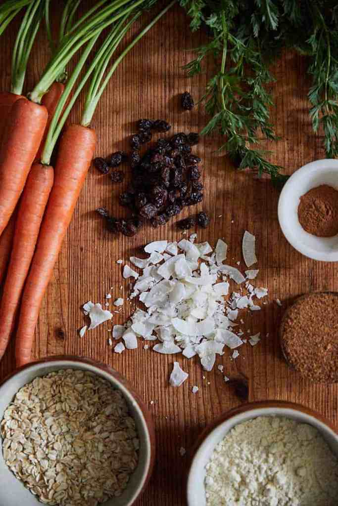 Carrot Cake Oatmeal Cookies Ingredients
