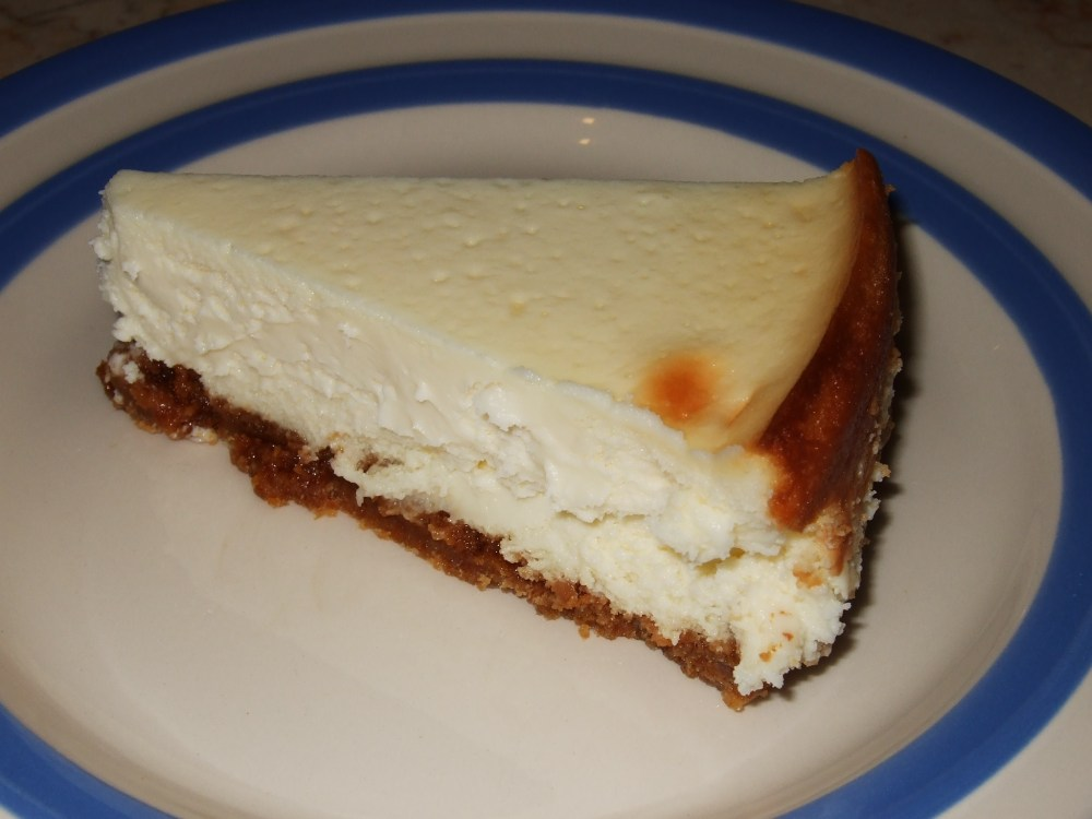 The Ultimate Baked Cheesecake (1/3)