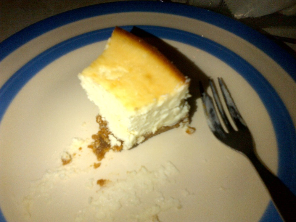The Ultimate Baked Cheesecake (3/3)