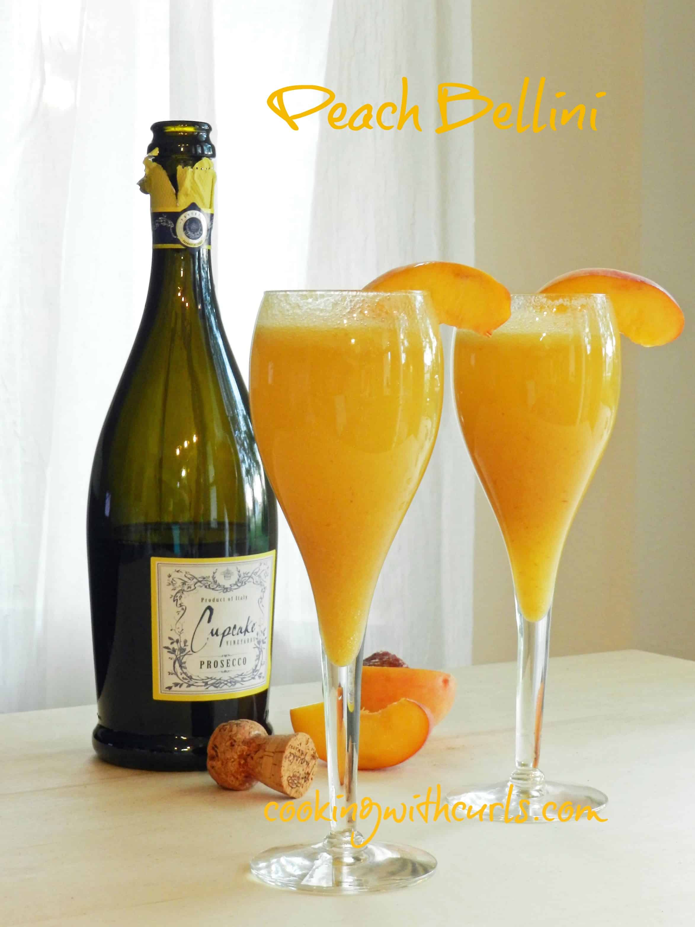 Peach bellini recipe foodie for Bellini cocktail