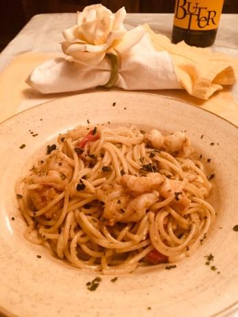 Shrimp w/Pasta