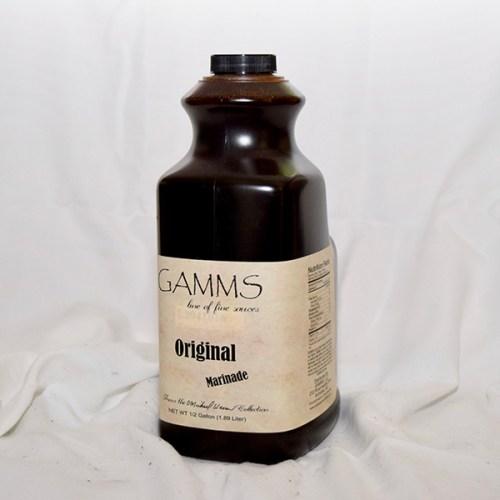 GAMMS Marinade Half Gallon