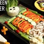 Halloween Veggie Tray Appetizer Trio Recipe Healthy Recipes