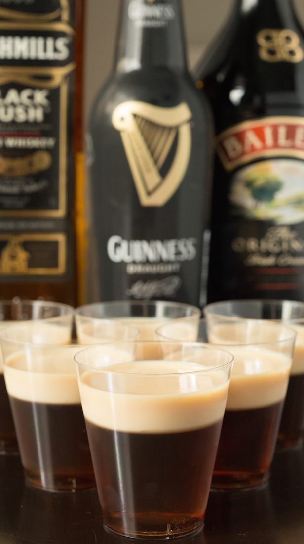 Irish Car Bomb Jello Shot recipe