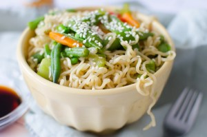 Instant Pot ramen stir fry is an easy weeknight family dinner that is done in under 15 minutes.