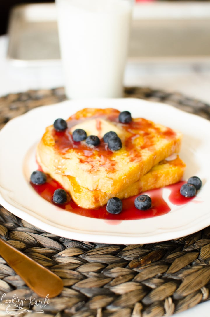 French toast frozen for a quick easy breakfast