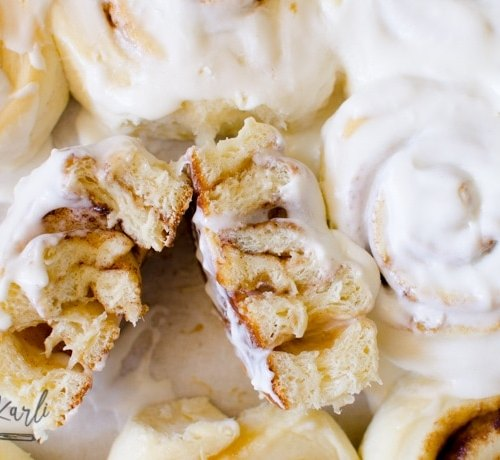 This classic sweet roll recipe filled with cinnamon and sugar is perfect for holiday breakfasts.