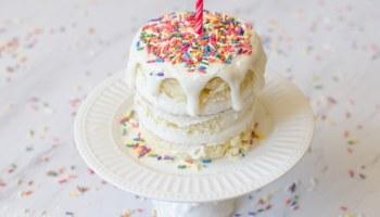 Smash Cake Recipe And Tutorial