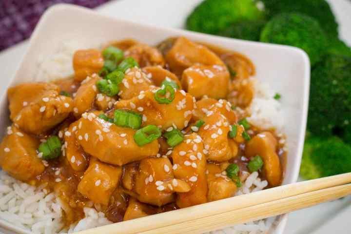 Instant Pot recipes- honey garlic chicken
