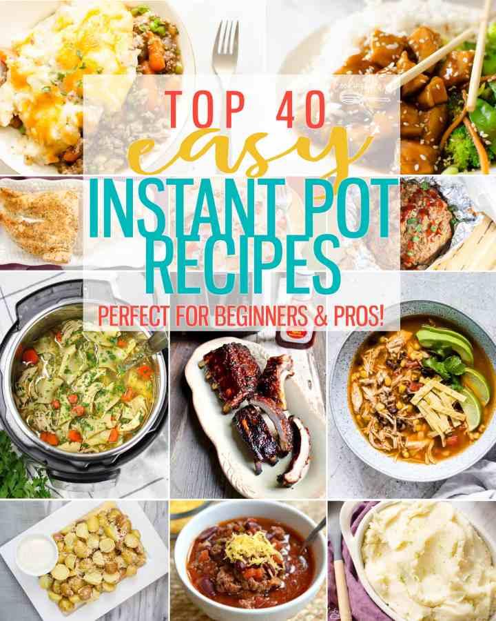 Instant Pot recipes round up