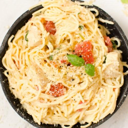 tomato basil pasta healthy
