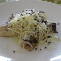 Pisang Bakar Keju Coklat/Grilled Bananas