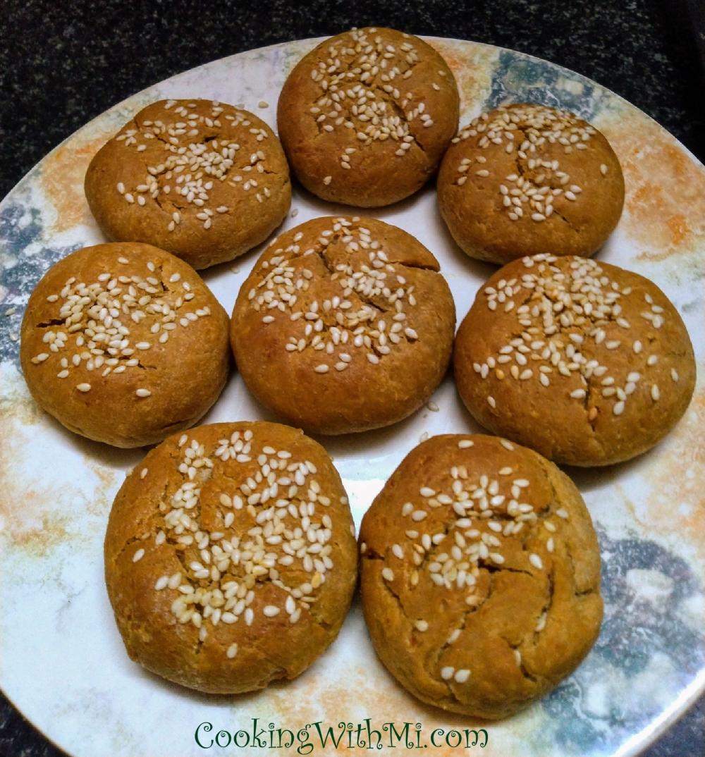 Buns wholewheat no yeast_Fotor