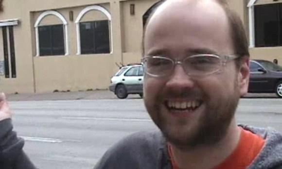 Robert Schneider smiling