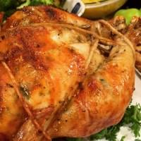 Garlic Parmesan Rotisserie Chicken