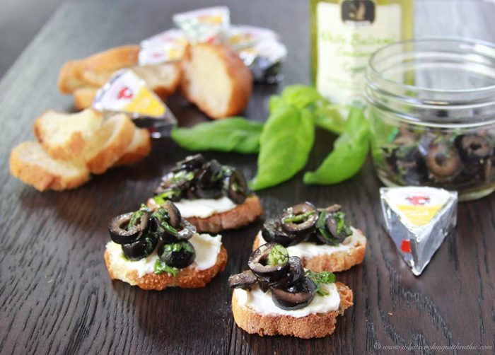 Basil Olive Tapenade Crostini S Cooking With Ruthie