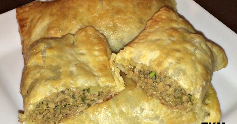 Ground Turkey Curry Puff Patties – Meat Turnovers