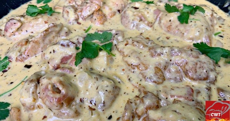 Creamy Butter Garlic Chicken