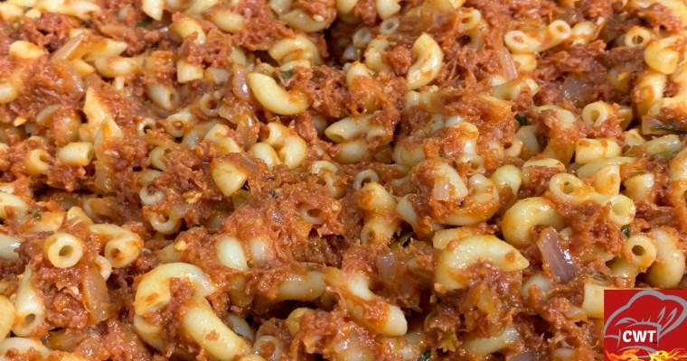 Corned Beef Pasta Recipe