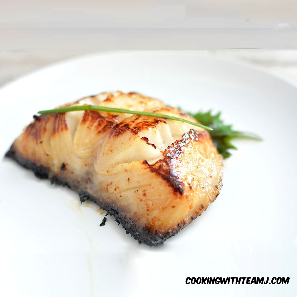 Nobu S Miso Black Cod Recipe Cooking With Team J