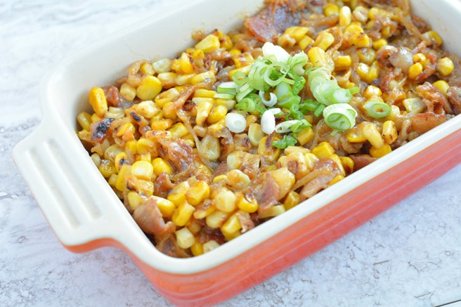 Roasted Sweet Summer Corn recipe
