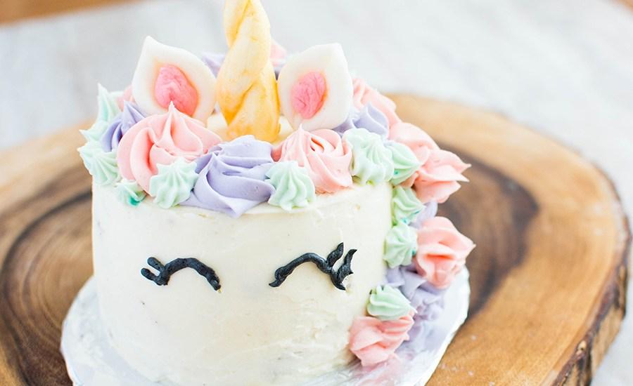 Unicorn Birthday Cake Recipe