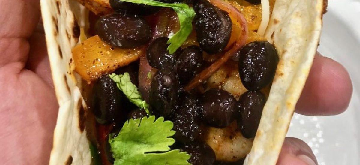 Homemade Shrimp Fajitas