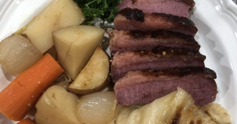 Corned Beef & Cabbage Feast