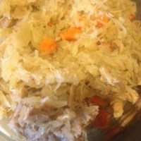Pork and Sauerkraut (A Slow Cooker Recipe)