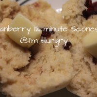 12 Minute Cranberry Cinnamon Scones - Secret Recipe Club